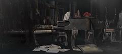 #Deco. Collector's (Contact SL : YeriakTH Couturier) Tags: nutmeg drd merak ariskea dahlia foxcity halfdeer bygone decoration piano melody serenata waltz secondlife sl inspiration spaces interior