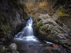 La petite cascade de Tendon. (pierrelouis.boniface) Tags: tendon vosges cascade water waterfall rocks rocher canon 6d france longexposure