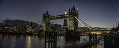 Tower Bridge Sunset (EricMakPhotography) Tags: london bridge towerbridge longexposure sunset blue thames shard