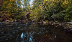 Hermitage_002 (captures.in.time) Tags: hermitage scotland perthshire waterfall britain uk bridge longexposure photography europe ngm lonelyplannet travel