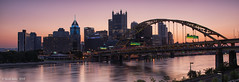 Good morning Pittsburgh (Scott of SWPA) Tags: pittsburgh sunrise westernpa westcarsonstreet duquesneincline nikon d810 sigma 2435mm singhray highmark upmc ppg