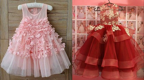17719ec91 Latest Baby Gown Dresses Buy Online  kids Princess Style Frocks ...