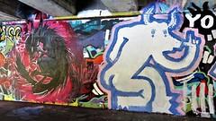 Avoid & Kathaoir / Keizerviaduct - 4 okt 2018 (Ferdinand 'Ferre' Feys) Tags: gent ghent gand belgium belgique belgië streetart artdelarue graffitiart graffiti graff urbanart urbanarte arteurbano ferdinandfeys