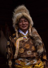 Mosuo Tibetan (Rod Waddington) Tags: china chinese yunnan mosuo tibetan man traditional tribe tribal culture cultural ethnic ethnicity portrait people