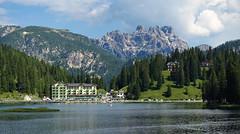 Lago di Misurina, Grand Hotel Misurina, Dolomiti 2018 (audiogab) Tags: lago di misurina grand hotel dolomiti dolomites montagne mountains laghi lake