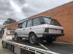 Arrival (andrew edgar .......) Tags: range rover silver v8 blacktown nsw australia