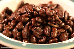 Beans (Retro Photo International) Tags: macro macromondays bfood beans carlzeissjena tessar 50mm 35 dish coffee syracuse