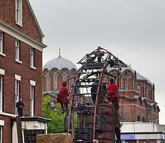 LITTLE BOY ROOF MAN CHURCH (CloudBuster) Tags: liverpool liverpools dream royal de luxe france nantes united kingdom culture october 2018 giant spectacular