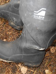 Black wellies (Lisban2009) Tags: wellies rubberboots leakingwellies gummistiefel