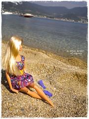 Dolls in Greece 2018 (Brani's fashion dolls) Tags: dolls greece sea holiday resort beachbarbie nea iraklitsa fashiondolls kenfashionistas rebodieddolls