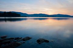 twilight (Anna M. Sky) Tags: lake morning bluehour sunrise landscape water austria