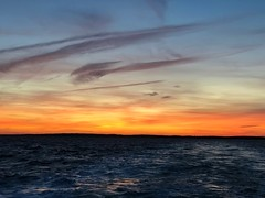 there goes September (saudades1000) Tags: colorful marthasvineyard atlantic ocean sunset