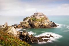 Bertheaume (Anne-Françoise LAURANS) Tags: paysage mer fort bretagne finistère pose longue seascape rocher