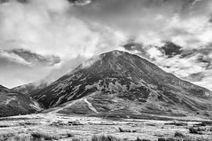 High Stile (Paul K Martin) Tags: high stile buttermere lakedistrict uk landscape mon monchrome bw moody mountains fells walking hiking mountaineering nikond300s 18200mm 18mm f90