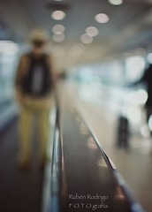 Thinking of a place (Mister Blur) Tags: wanderlust wetravel thelighttraveler traveler passenger conveyor aeropuerto internacional ciudad mexico city international airport aicm terminal voyage thinking place dream mood atmosphere blur bokeh shallow depthoffield dof snapseed nikon d7100 35mm f18 thewarondrugs thinkingofaplace