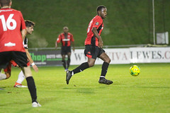 Lewes 2 Kings Langley 1 FAC replay 26 09 2018-215.jpg (jamesboyes) Tags: lewes kingslangley football nonleague soccer fussball calcio voetbal amateur facup tackle pitch canon 70d dslr