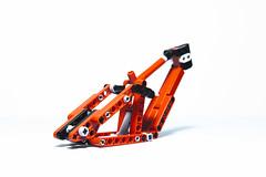 LEGO Technic - NS Bikes FUZZ (dirtzonemaster) Tags: lego technic moc lugpol ns bikes fuzz downhill freeride enduro cycle bicycle specialized demo bike dh suspension full whistler frame rock shox boxxer marzocchi