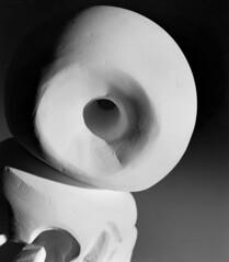 Space (kailikesspace) Tags: black white film large format 4x5 dramatic lighting indoors studio