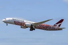 VH-ZND B789 QANTAS YBBN (Sierra Delta Aviation) Tags: qantas airways boeing b789 brisbane airport ybbn vhznd