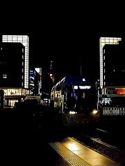 My nightly way at home (ANBerlin) Tags: struktur structure abstrakt abstract linien lines stadt city städtisch urban sehenswürdigkeit pointofinterest pov strasenfotografie streetphotography platz place schiene railway railroad gleise tracks licht light symmetrie symmetry berolinahaus alexanderhaus gebäude bauwerk building architektur architecture drausen outdoor ausergewöhnlich extraordinary line linie m5 bvg flexity nacht nächtlich night nightly infrastruktur infrastructure strasenbahn cablecar trolly tram deutschland germany berlin mitte alexanderplatz anb030 shotoniphone iphotography iphonography 8plus iphone8 iphone apple