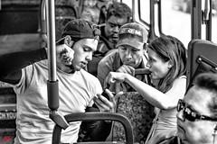 THE EAVESDROPPER (panache2620) Tags: monochrome bw blackandwhite group conversation eavesdropper eavesdropping friends lesson tutor people urban city minneapolis minnesota
