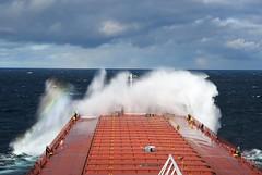 Bam! (Missabe Road) Tags: indianaharbor waves asc lakesuperior