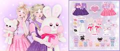CHACHA x Arcade (77moon.) Tags: chacha arcade bunny doll