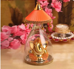 Lord Ganesha With Orange Umbrella (mywowstuff) Tags: gifts gift ideas gadgets geeky products men women family home office