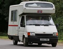 E562 ONX (Nivek.Old.Gold) Tags: 1987 ford transit 190 ci motorhome camper 1993cc danny freddie