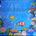 """""""Coral Reef W Fishes Under The Sea"""" by Millie B, acrylic, $35.00"""