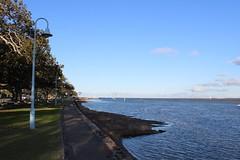 View out to Moreton Bay, Shorncliffe (philip.mallis) Tags: brisbane shorncliffe sea moretonbay coast