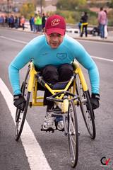 Esfuerzo, ejemplo. (Carlos Velayos) Tags: retrato portrait hombre man deporte sport esfuerzo effort ejemplo example discapacitado disabled luznatural daylight