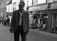 Give me Coffee (Bury Gardener) Tags: suffolk streetphotography street streetcandids snaps strangers candid candids people peoplewatching folks 2018 nikon nikond7200 england eastanglia uk blackandwhite bw monochrome mono abbeygatestreet