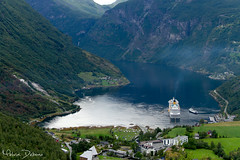 Geirangerfjord - Norway (Melvin Debono) Tags: geirangerfjord norway the geiranger fjord norwegian geirangerfjorden is sunnmøre region møre og romsdal county it located entirely stranda municipality 15 kilometre 93 mi long branch off sunnylvsfjorden which storfjorden great small village end where geirangelva river empties melvin debono canon 7d 18135mm photography nature travel haugane more geirangervegen