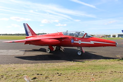 IMG_9629 (routemaster2217) Tags: northweald aviation aeroplane aircraft jetaircraft fighterjet jettrainer trainingaircraft follandgnatt1 bristolsiddeleyorpheus raf royalairforce aeroukholdingsltd xr537 gnaty