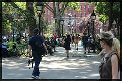 Walking Alone (misterburris) Tags: nycstreetphotography streetphotographer streetphotography cmnm cmnmpublic cfnm teamnaked exhibitionist andygloub nudephotographer nudemalemodel nudephotography nudemodel nudeart bodyart