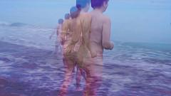 Bildschichten am Strand 04 (wos---art) Tags: bildschichten ostsee strand akt baden schwimmen frauenakt sommer frühling herbst winter nude nackt badende ohne unbekleidet