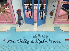Our Haunted House (the ghost in you) Tags: halloween hauntedhouse dollhouse doll kids keepout horror