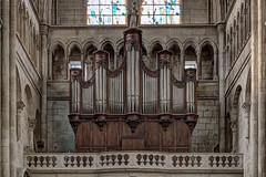 Collégiale Saint-Barnard à Romans-sur-Isère (bernarddelefosse) Tags: collégialesaintbarnard église romanssurisère drôme rhônealpes france orgue