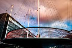 Circle bridge (Maria Eklind) Tags: copenhagen denmark cirkelbroen blackdiamond bridge bro circlebridge köpenhamn regionhovedstaden danmark dk