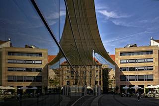 Fassadenspiegelung