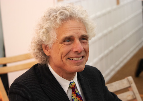 Steven Pinker book fan photo