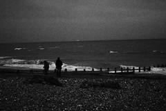 IMG_7158 (Scarlett J) Tags: black white bw 35mm filn film dark landscaoe landscape portrait beach clouds grain vintage old photography