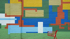 - Just Colourful - (Jacqueline ter Haar) Tags: chicago mural wall colorful colors cart