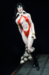 Vampirella (Patman1313) Tags: phicen tbleague seamlessbody sixthscale seamless stainlesssteelframe stainlesssteelphicen actionfigure vampirella dynamitecomics 16 16scale 6thscale