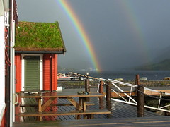 Klar und deutlich (michaelschneider17) Tags: natur norwegen wetter regenbogen