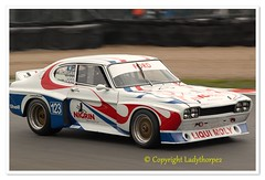 123a CUP_0652 (ladythorpe2) Tags: 2018 oulton park gold cup meeting circuit cheshire historic touring car challenge with the tony dron trophy 3 martin overington guy stevens 1980 rover sd1 3500 123 ric wood adam morgan ford capri 3000
