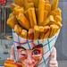 Das Maskottchen der Pommesbude Frituur de Parade in Venlo