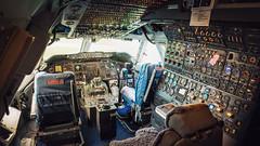 Cockpit Boeing 747-200, Aviodrome, Lelystad. (1maarten) Tags: 747 boeing cockpit retired