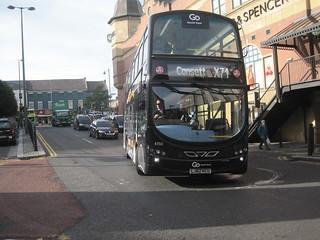 Go North East 6150 (LJ62 KCU). Eldon Square Bus Station, Newcastle